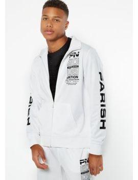 parish-nation-white-zip-front-graphic-track-jacket by rue21