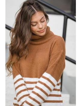 sweater-weather-sweater-tunic---copper-and-ivory by hazel-&-olive