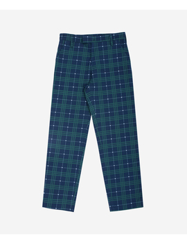 pantalon-tartan-bleu_vert by wasted