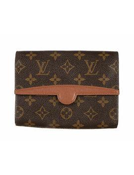 louis-vuitton-brown-monogram-canvas-pochette-arche-bag by louis-vuitton