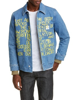 x-brain-dead-imhotep-denim-jacket-with-zip-out-liner by apc
