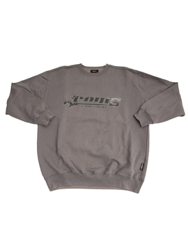 crewneck-com8-gris-anthracite by wasted