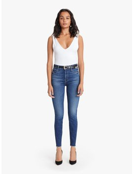 mother-denim-high-waisted-ankle-fray---night-clubbing by garmentory
