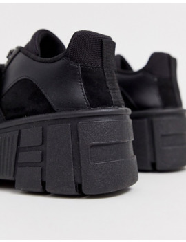 asos-design-dungeon-chunky-sneakers-in-black by asos-design