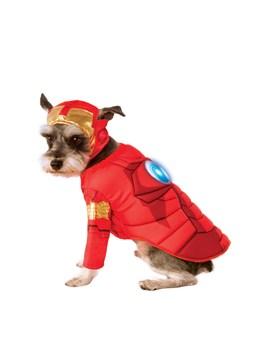 iron-man-deluxe-pet-costume by super-hero