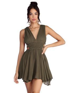 summer-vibes-gauzy-mini-dress by windsor