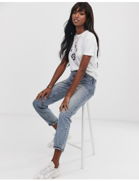 asos-design-tall-t-shirt-with-mystical-print-in-organic-cotton by asos-design