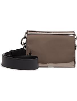 captain-mirror-flap-leather-shoulder-bag by allsaints
