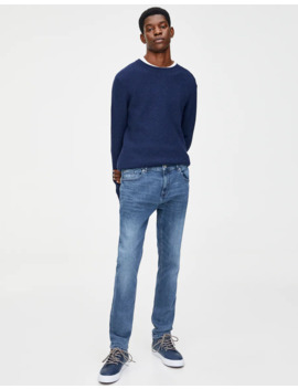 jeans-skinny-effetto-consumato by pull-&-bear