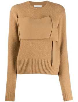 wide-woven-strap-jumper by bottega-veneta