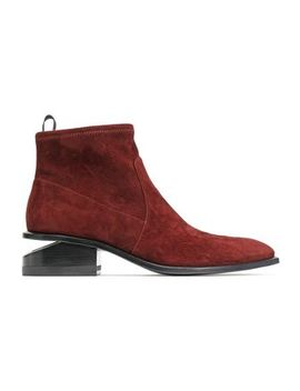 koru-cutout-stretch-suede-ankle-boots by alexander-wang