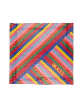 multi-stripe-wool-blend-shawl by gucci