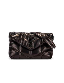 small-loulou-puffer-chain-bag by saint-laurent
