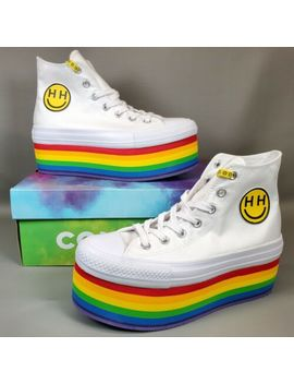 converse-x-miley-cyrus-pride-rainbow-platform-size-8-all-star-shoes-boot-562251c by converse