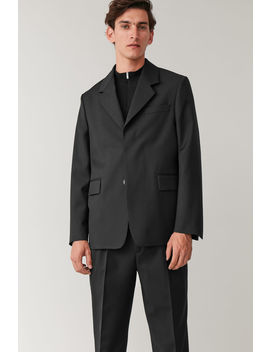 straight-blazer-with-wide-lapels by cos