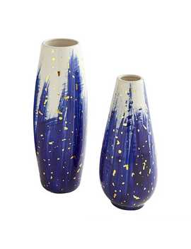 indigo-painted-vases by pier1-imports