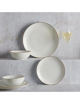 gold-band-12-piece-dinner-set by dunelm
