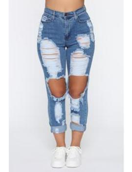 so-gone-high-rise-boyfriend-jeans---medium-blue-wash by fashion-nova