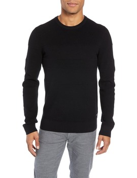 esanto-structured-slim-fit-sweater by boss