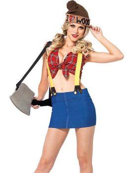 Lumberjack Hottie Costume by Leg Avenue
