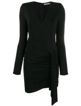 ruched-front-dress by alice+olivia