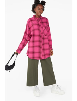oversized-flannel-shirt by monki