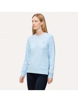 crew-neck-sweatshirt by tommy-hilfiger