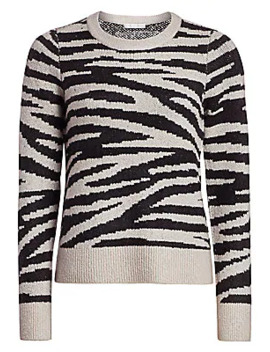 zebra-jacquard-sweater by design-history