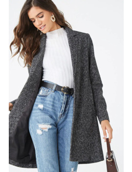 marled-single-breasted-coat by forever-21