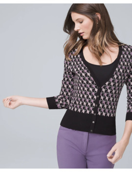 geo-snap-front-cardigan by whbm