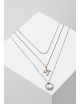 coin-and-ring-multirow-3-pack---halskæder by burton-menswear-london