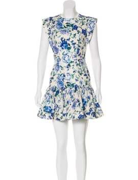 floral-linen-dress by zimmermann