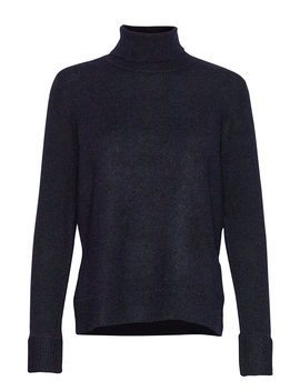 slflaura-ls-knit-rollneck-b by selected-femme