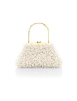 mini-estelle-faux-shearling-top-handle-bag by cult-gaia