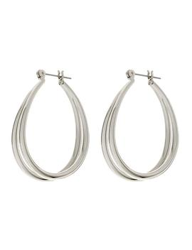 Florence Hoops  Silver by Luv Aj