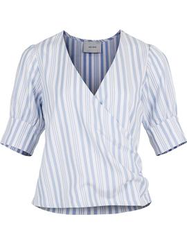 isa-stripe-blouse by neo-noir