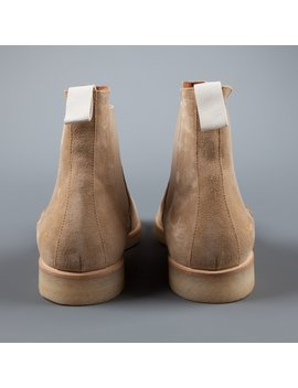 Common Projects Chelsea Boot In Tan Suede by Frans Boone