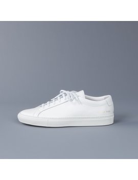 Common Projects Original Achilles Low 1528 White by Frans Boone