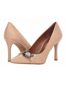 waverly-85mm-pump-with-signature-buckle by coach