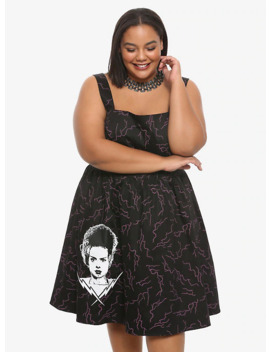 universal-monsters-bride-of-frankenstein-retro-dress-plus-size by hot-topic