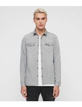 Giro Denim Shirt by Allsaints