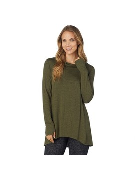 womens-cuddl-duds-soft-knit-long-sleeve-cowl-neck-top by cuddl-duds