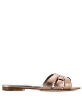 tribute-105-nu-pieds-sandals by saint-laurent