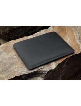 black-leather-macbook-pro-13-15-inch-case-sleeve-,-black-leather-macbook-air-11-13-inch-case-sleeve-,-leather-macbook-12-inch-case-macx11s by etsy
