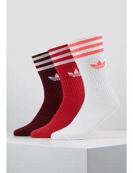 Solid Crew 3 Pack   Socks by Adidas Originals
