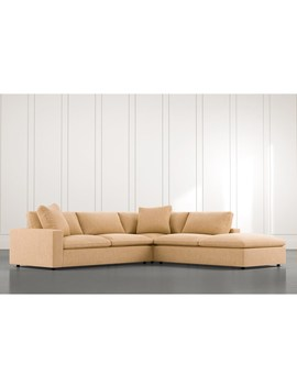 Utopia Yellow 3 Piece Sectional by Living Spaces