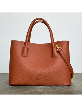 Cher     Tote   Brown        Cher     Tote   Brown by Angela Roi
