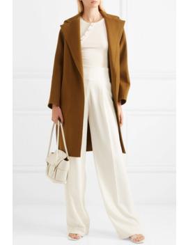 hooded-wool-blend-coat by vince