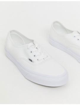 vans-classic---authentic---baskets---blanc-triple by vans