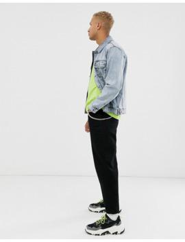 asos-design-oversized-denim-jacket-in-acid-wash-blue by asos-design
